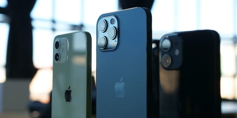 Apple удалось убедить покупателей приобретать самый дорогой iPhone. iPhone 12 Pr...