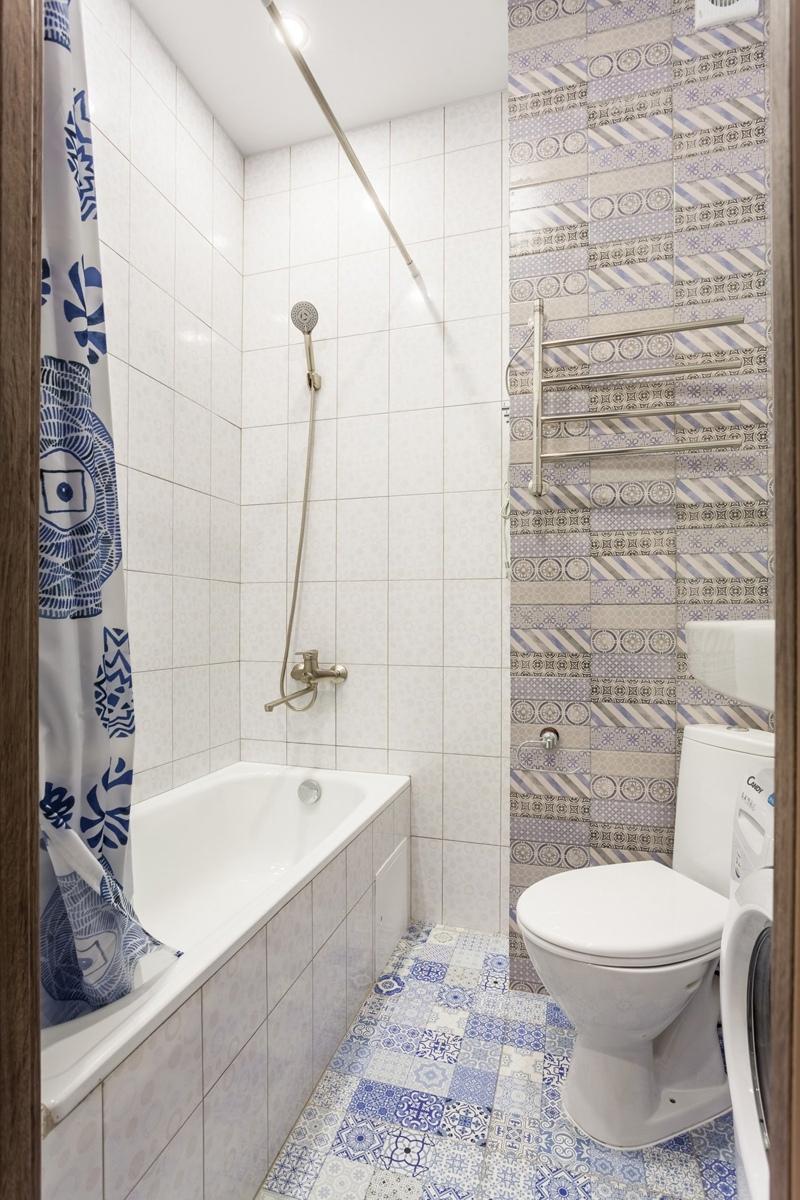 Бюджетный ремонт маленькой квартиры-студии 20 м (комната 17 м) в Москве.