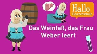 Deutsch lernen / Aussprache üben / Zungenbrecher 3