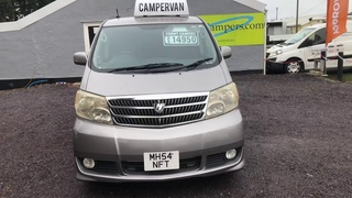 TOYOTA ALPHARD CAMPER WITH NEW CONVERSION FOR SALE £14,450