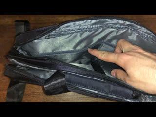 Обзор на плотную сумку из нейлона