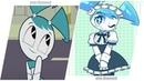 My Life as a Teenage Robot As Anime / Жизнь и приключения робота подростка в стиле аниме