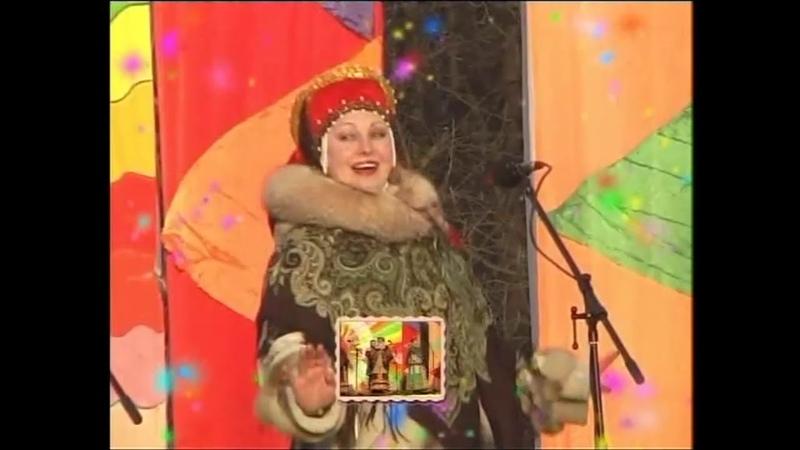 Выступление ансамбля Карусель на Соборной площади г Рязань