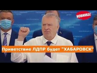 Жириновский о протестах в ХАБАРОВСКЕ!