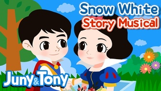 Snow White   Story Musical for Kids   Princess Story   Fairy Tales for Kids   JunyTony