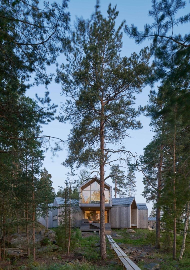Villa Sunnanö by Murman arkitekter AB,