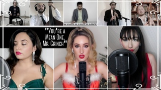 """""""You're a Mean One, Mr. Grinch"""" Cover by Robyn Adele ft. Virginia Cavaliere and Brielle Von Hugel"""