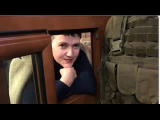 Говорим по русски и доходчиво . Гордон взял интервью у Савченко за решеткой.