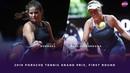 Julia Goerges vs. Anastasia Pavlyuchenkova 2019 Porsche Tennis Grand Prix First Round