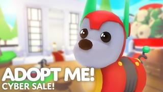 🤖 CYBER SALE!! 🐶 Robo Dog + 2x Bucks weekend in Adopt me! on Roblox