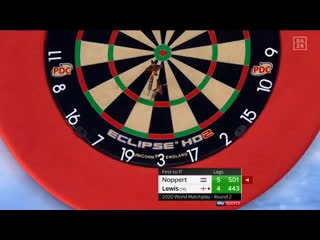 Danny Noppert  vs Adrian Lewis (PDC World Matchplay 2020 / Round 2)