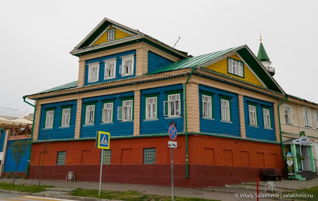 Дома в Старо-Татарской слободе, Казань 2020