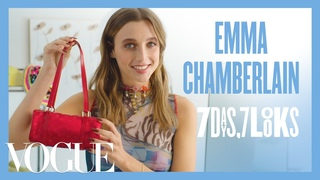 Every Outfit Emma Chamberlain Wears in a Week | 7 Days, 7 Looks | Vogue