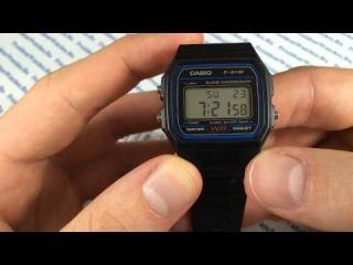 Обзор часов Casio F-91W-1 - видео от