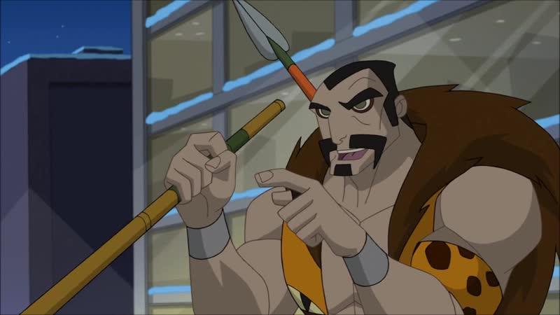 Человек Паук против Кравена Грандиозный Человек Паук Мультсериал 2008