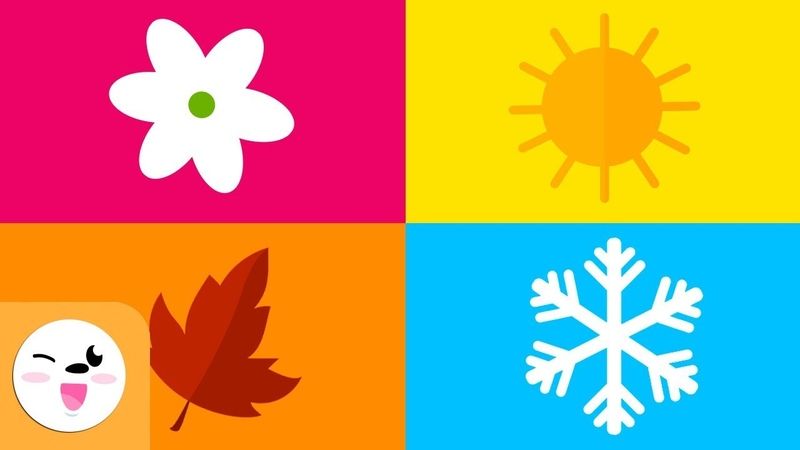 The four seasons of the year for kids Which are the seasons Spring Summer Autumn and Winter