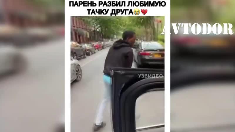 Приколы на дороге самые УМНЫЕ люди за рулем авто Октябрь №18