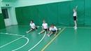 Юные гимнастки Рассветовская СОШ