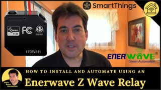 Bathroom Fan & Light Automation Using an Enerwave Z-Wave Plus Relay