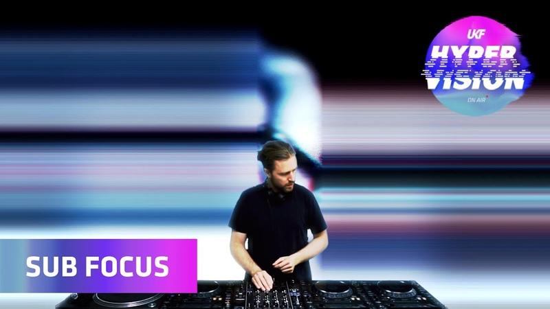 Sub Focus DJ Set visuals by Rebel Overlay UKF On Air Hyper Vision