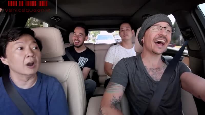 Carpool Karaoke i Linkin Park cantano Under The Bridge dei Red Hot Chili Pepppers