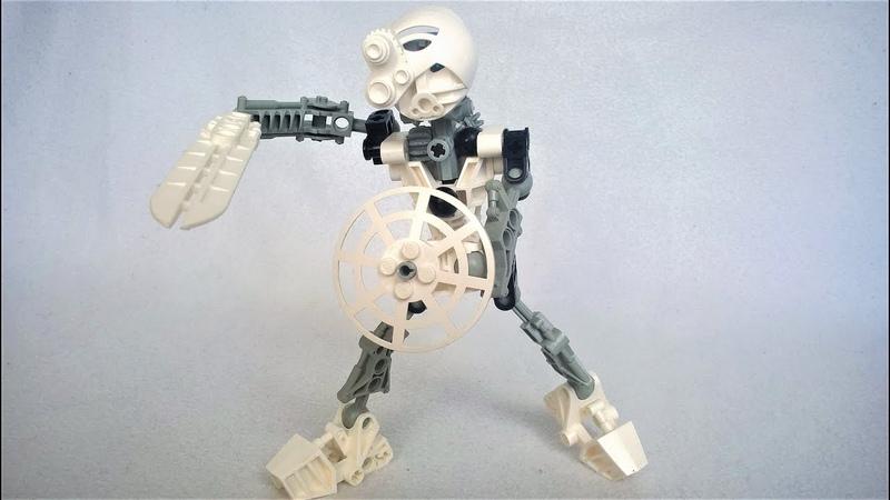 Лего Бионикл Обзор набора Тоа Копака 8536 2001 Lego Bionicle Toa Kopaka set review