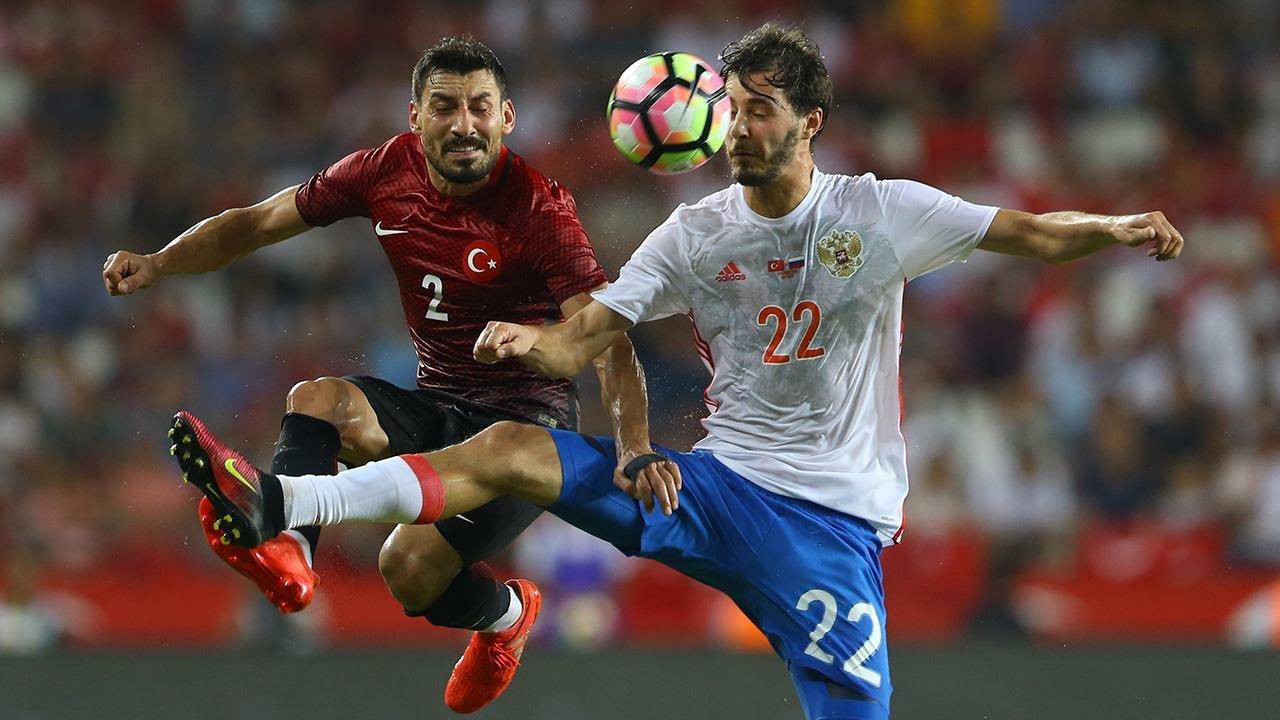 Сборная России - сборная Турции