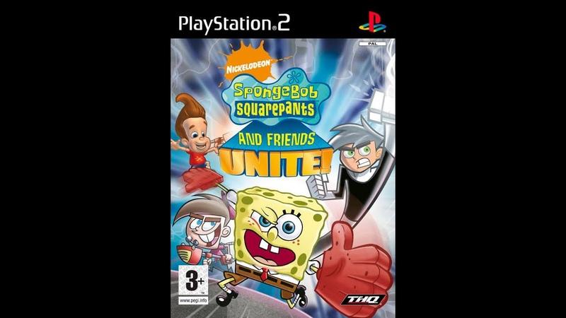 Nicktoons Unite Прохождение уровень 1 Мир Дэнни призрака Тюрьма