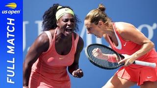 Serena Williams vs Roberta Vinci in a three-set epic! | US Open 2015 Semifinal
