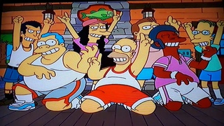 The Simpsons - Homer goes to Rolling Stones Rock 'N' Roll Fantasy Camp