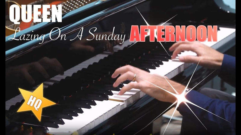 QUEEN - Lazing On A Sunday Afternoon - HDHQ Piano cover 🔴 Piano Sheets