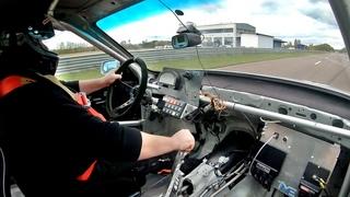 1400 HP Audi 100 Ur S4 20V Turbo 3.3 bar Quattro Acceleration onboard sound
