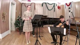 """О. Киселёв - А. Белоусов, """"Привет от Астора""""Исполняют Анна Суетина и Дмитрий Андреев."""